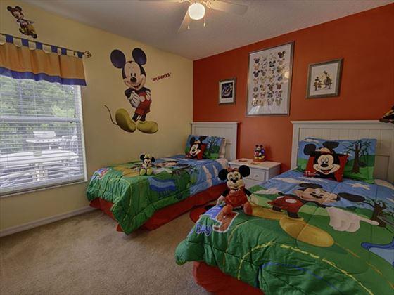 145 Emerald Island Twin Bedroom