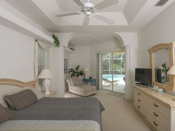 Example of an Englewood Area Home - King Bedroom