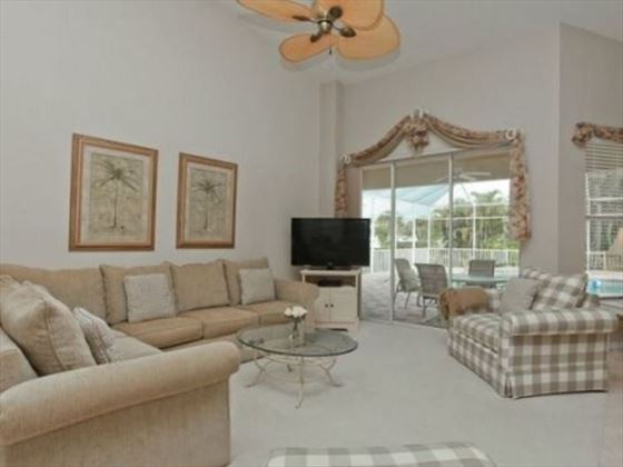 Example of an Englewood Area Home - Living Room