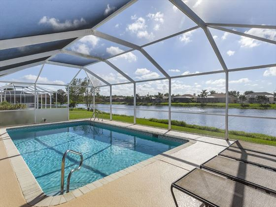 Example of a Fort Myers Area Home - Private pool