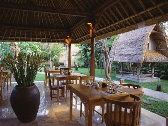 Garden Terrace Restaurant Komaneka Ubud