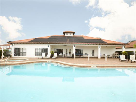 High Grove Homes communal Pool