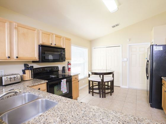 Example of Highlands Reserve Home - Kitchen