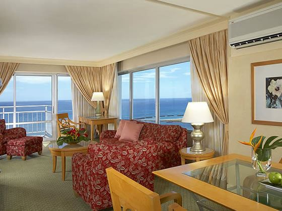 Luxury Oceanfront two bedroom suite