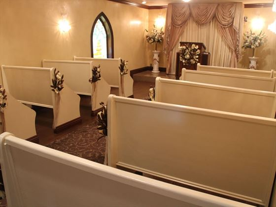 Inside Graceland Chapel