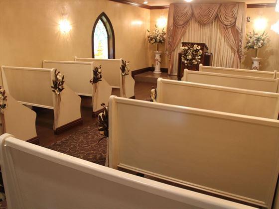 Inside Graceland Chapel