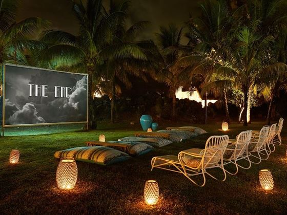 Outdoor Cinema at Lux Belle Mare
