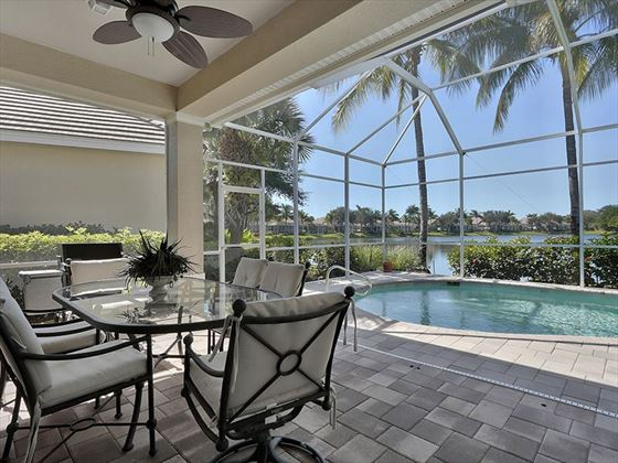 Example of a Marco Island Area Home - Private Patio and Pool