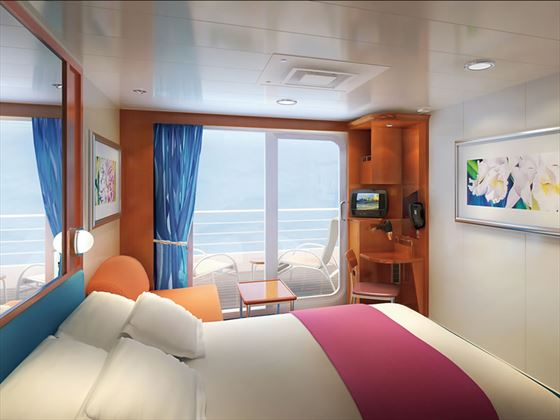NCL Pride of America, Balcony stateroom