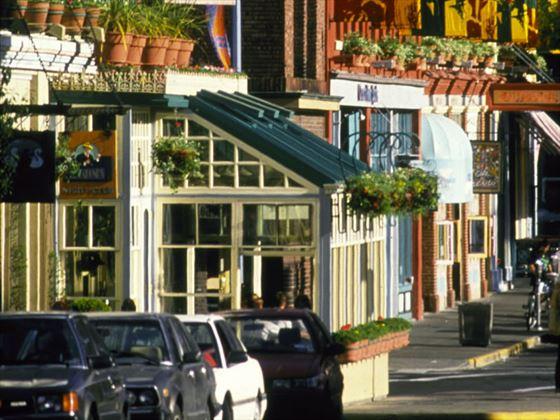 Old Town Market Square area, Victoria