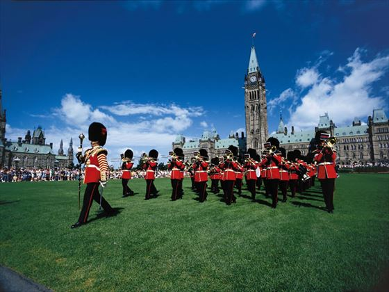 Changing of the Guard Ceremony on Parliament Hill, Ottawa