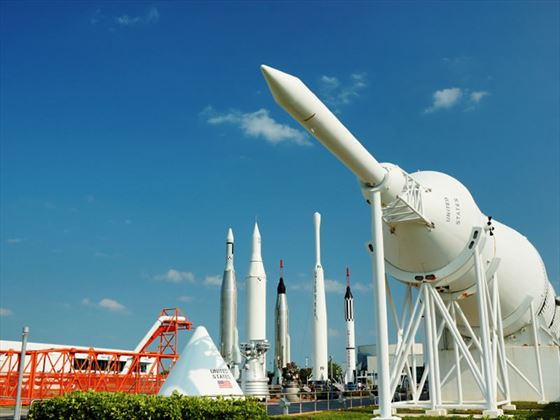 Rocket Garden at Kennedy Space Centre