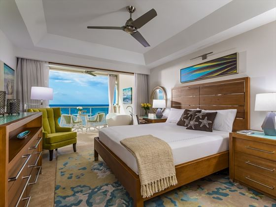 Beachfront Grande Luxe Club Level Suite at Sandals Montego Bay