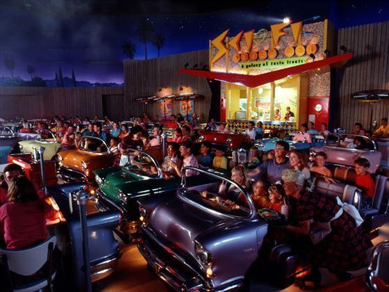 Sci-Fi Dine-In Theater Restaurant at MGM Studios, Walt Disney World, Orlando