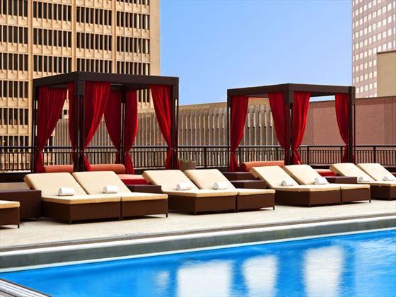 Sheraton Dallas Hotel Dallas Texas American Sky