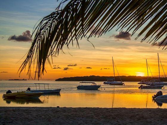 Sunset at Preskil Island Resort