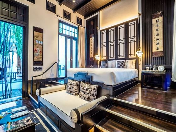 The Siam Pool Villa Bedroom