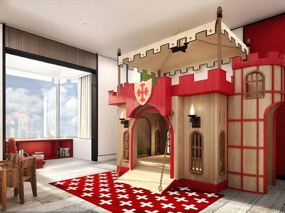 Family Suite Castle Theme