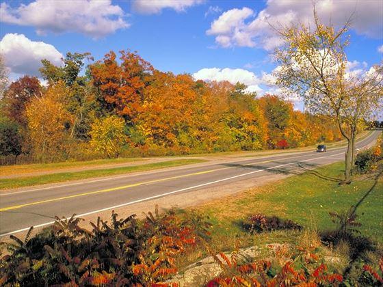 Thousand Islands parkway, Lake Ontario