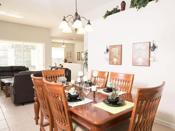 Example of a Windsor Hills Resort Home - Dining Area