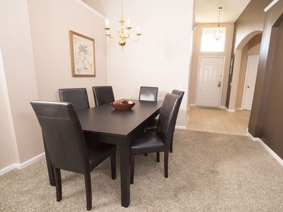 Example of Windsor Palms Home - Dining Room