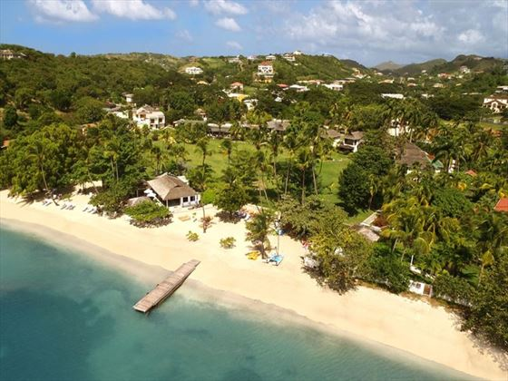 Aerial view of Calabash Luxury Boutique Hotel & Spa