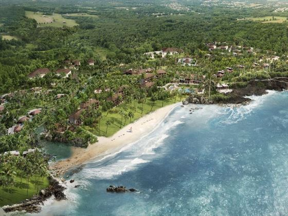 Aerial view of Anantara Tangalle Peace Haven
