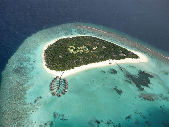 Aerial view of Coco Palm Dhuni Kolhu