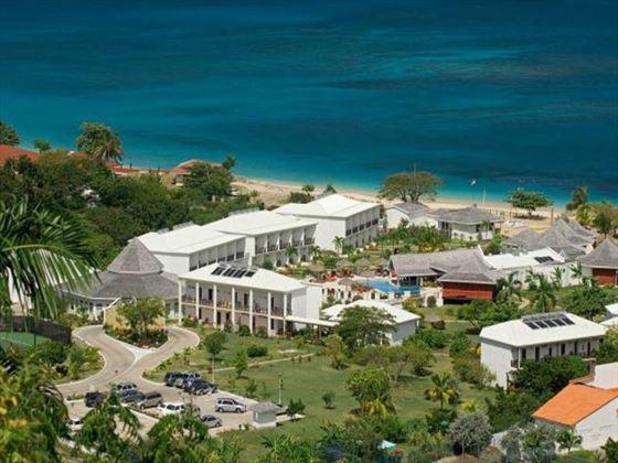 Aerial view of Coyaba Beach Resort