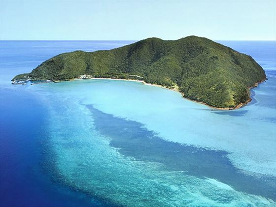 Aerial view of One&Only Hayman Island