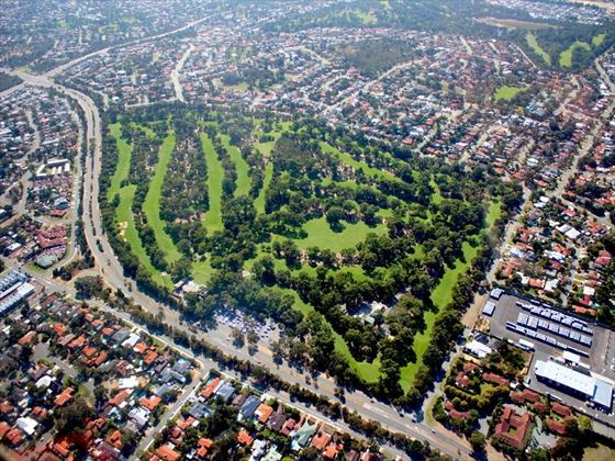Parks and suburbs in Perth