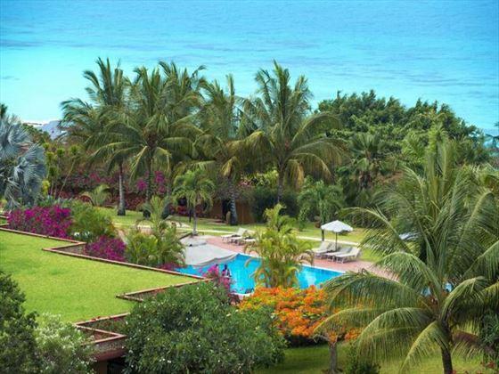 Aerial view of the pool at Diamonds La Gemma Dell Est
