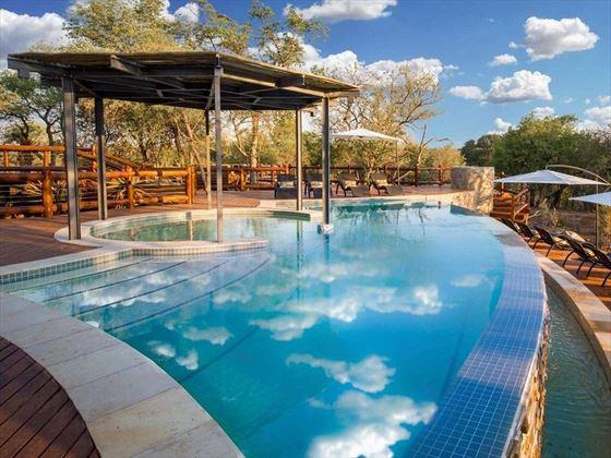 Pool at aha Makalali River Lodge