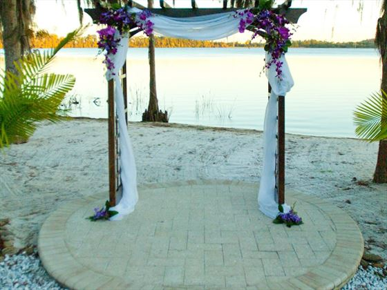 Wedding venue at Paradise Cove