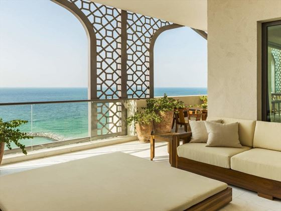 Ajman Saray Royal Suite terrace