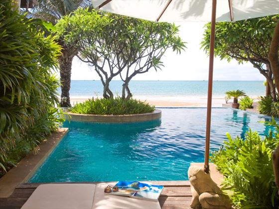 Aleenta Hua Hin Pranburi Resort and Spa private pool