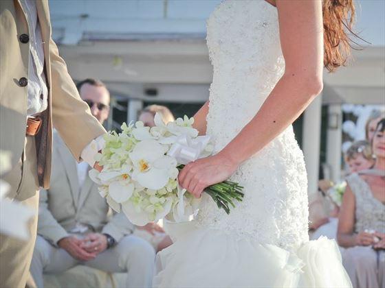 The wedding ceremony at Amari Phuket
