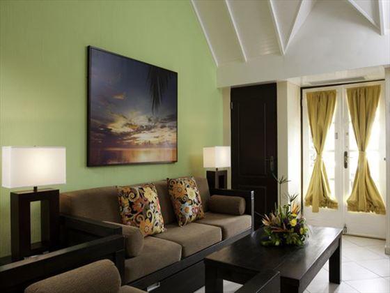 Amsterdam Manor Beach Resort Suite living area