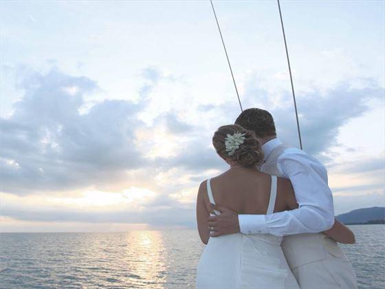 Romantic honeymoon moments at the Anantara Bophut Resort & Spa