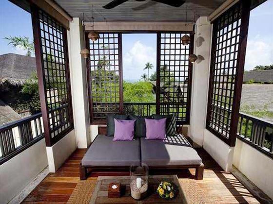 Deluxe Room balcony