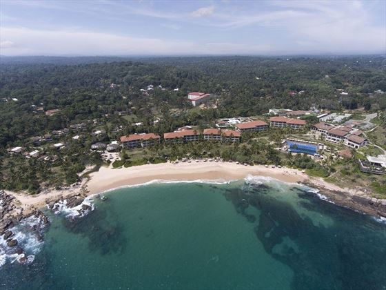 Anantara Peace Haven Tangelle aerial view