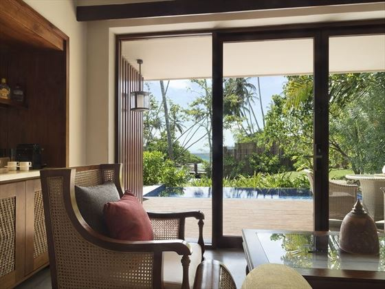 Anantara Peace Haven Tangelle Partial Ocean View room