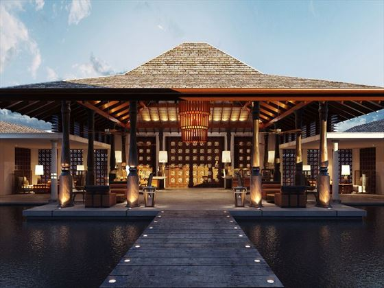 Anantara Tangalle Peace Haven reception pavilion