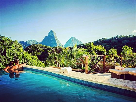Anse Chastanet Piton Pool Suite