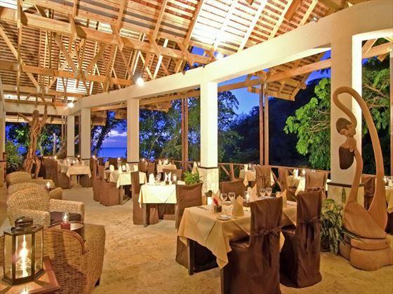 Anse Chastanet restaurant