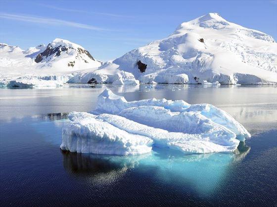 Stunning Antarctic Icebergs