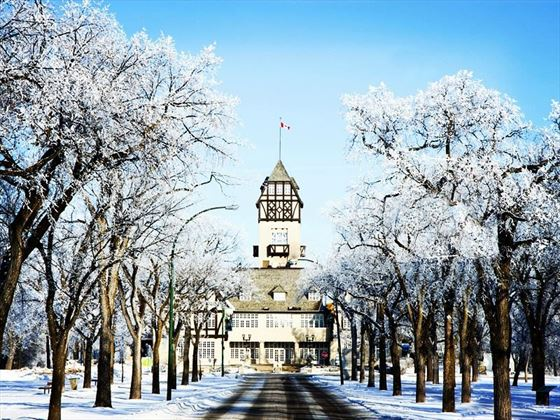 Assiniboine Park in the winter, Winnipeg