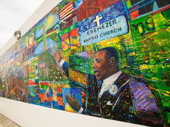 Martin Luther King mural, Atlanta