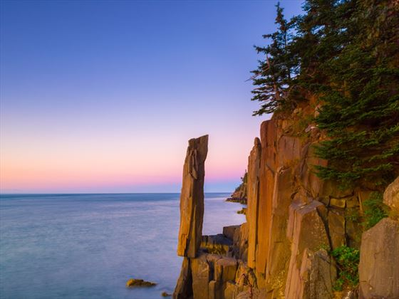 Balancing Rock, Tiverton, Bay of Fundy