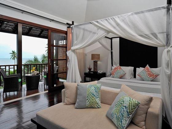 Balcony Villa bedroom